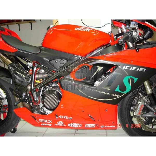 Carbon Frame Covers 848 1098 1198 Fairing And Carbon Parts