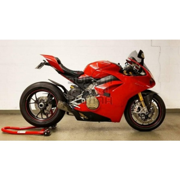 Carbon Frame Cover Set Ducati Panigale V4 Carbon And Gf Parts