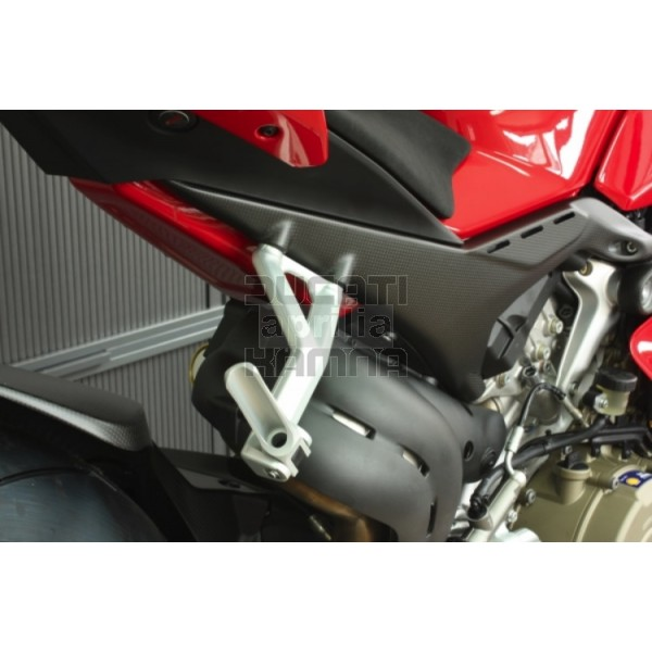 Carbon Subframe Covers Ducati Panigale V4 Carbon And Gf Parts