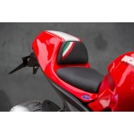 Real lether seat with tricolore for Ducati Monster 1100 / 1100 EVO