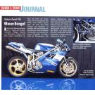 Motorrad Ausgabe 20, 16 September 1995 --- Blauer Bengel / Ducati 955
