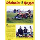 """Bikers News 1994 --- Ducati Dragster: Bericht aus der """"Bikers News"""" über einen Ducati Dragster den wir supported haben. Erschienen im Jahre 1994."""