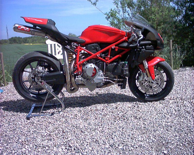 749 / 749 S / 749 R/923 ccm   Ducati & Aprilia-Tuning Kämna